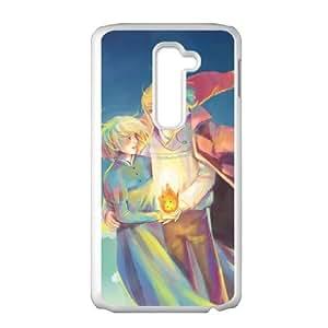 Howl's Moving Castle LG G2 Cell Phone Case White L0532291