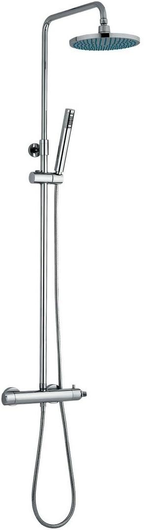 Diva 153700 Columna termostática ducha telescópica: Amazon.es ...