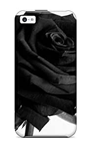 ZWsPVNV21756SvIgC Henry Reynolds Black Rose Durable Iphone 5c Tpu Flexible Soft Case