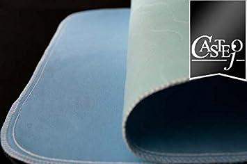 1 Fiducia Inkontinenzunterlage gr/ün-blau oder blau-wei/ß 90x75cm von Castejo waschbar Inkontinenzauflage Krankenunterlage Matratzenschutz CA3302//C Verschiedene Mengen