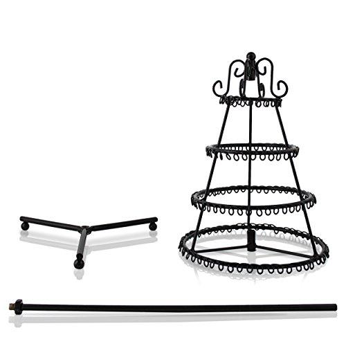 venkon drehbarer schmuckst nder tannenbaum f r aufbewahrung pr sentation halsketten. Black Bedroom Furniture Sets. Home Design Ideas