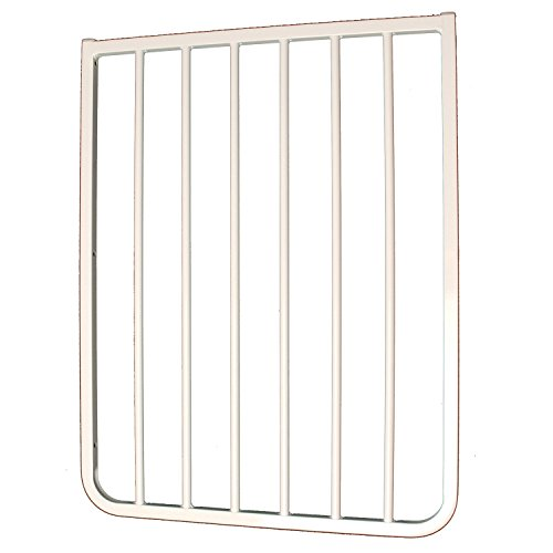 "Cardinal Gates 21¾"" Width Extension for Autolock Gate, White and The Stairway Special, White"