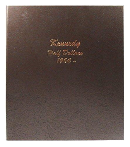- Dansco US Kennedy Half Dollar Coin Album 1964 - 2017 #7166