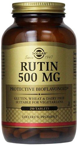 Solgar – Rutin 500 mg, 250Tablets