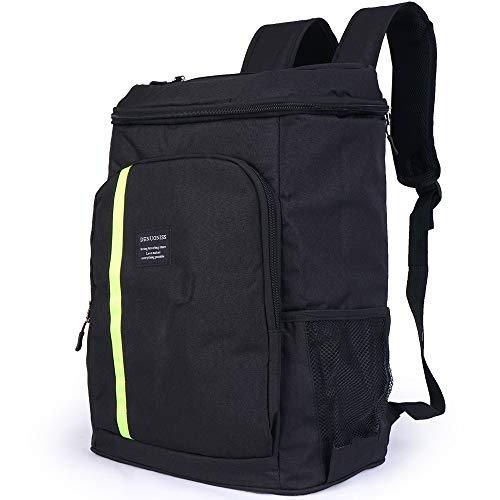 - Cooler Backpack Insulated Waterproof, Leak Proof, Leakproof, Large Black