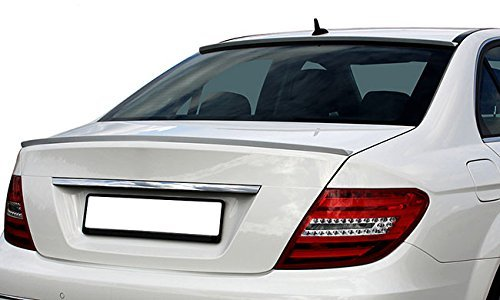 Rear Trunk Lid Wing Sport Spoiler Lip For Mercedes Benz C Class Coupe C204 + Sedan W204 – AMG