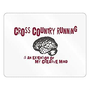 Teeburon Cross Country Running is an extension of my creative mind Plastic Acrylic