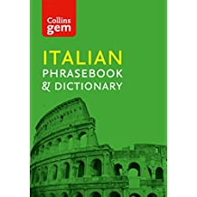 Collins Italian Phrasebook and Dictionary Gem Edition: Essential phrases and words (Collins Gem) (Italian Edition)