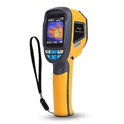 HT-02D Thermal Imaging Camera,Akozon Handheld Infrared Thermal Imager Industrial Infrared Camera IR Resolution of 1024 Pixels Temperature Range:-20~300°C