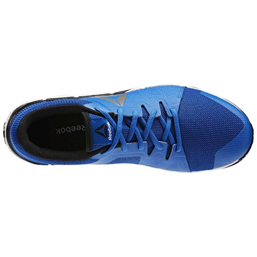 Reebok Herren Bd5552 Turnschuhe Blau (Awesome Blue/wht/blk/pewter)