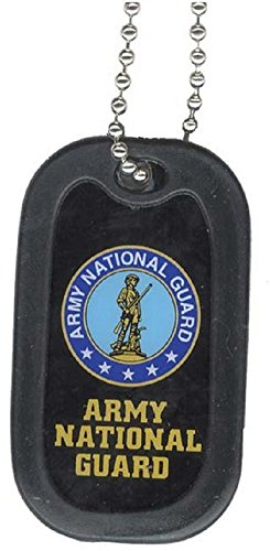 United States Army National Guard Division Rank Logo Symbols - Military Dog Tag Luggage Tag Key Chain Metal Chain Necklace