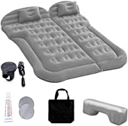 Car Inflatable Mattress with Pump, Portable SUV Air Bed for Camping, Home, Travel, Hiking, Full Size Blow Up S