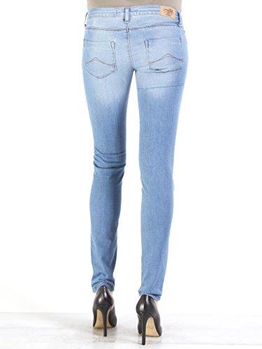 Donna super Tessuto Elasticizzato Lavaggio Jeans Wash Bassa Skinny 501 Blu Sigaretta Modello Denim Stone 777 Carrera Vestibilità A Per Look Vita Chiaro pt4wqHz