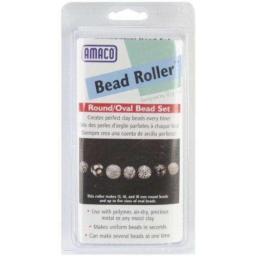 Amaco Various Bead Roller Set -Round and Oval by - Bead Amaco Roller