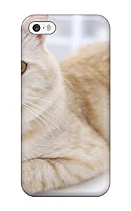 Imogen E. Seager's Shop Cheap New Cat S Felines Animal Cat Tpu Case Cover, Anti-scratch Phone Case For Iphone 5/5s