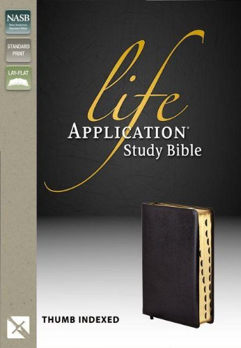 Life Application Study Bible, Indexed, NASB