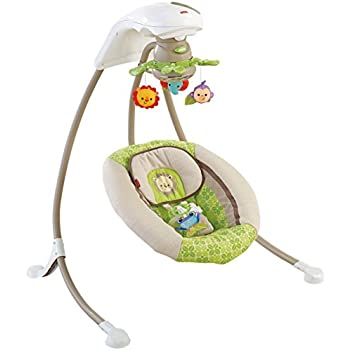 Fisher price cradle 39 n swing luv u zoo discontinued by manufacturer stationary - Tapis d eveil fisher price zoo deluxe ...