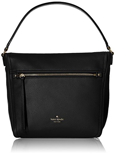 kate spade new york Cobble Hill Teagan Shoulder Bag, Black, One Size by Kate Spade New York