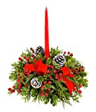 Christmas Flowers - Merry Christmas Centerpiece
