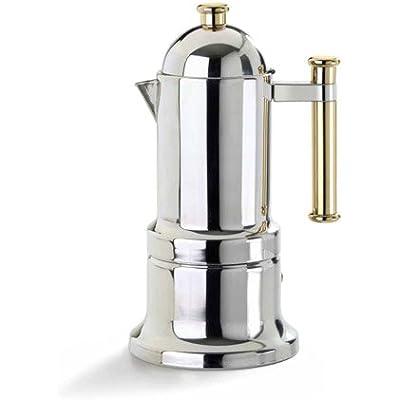 Click for Stovetop Espresso Maker - Vev Vigano Kontessa Gold 2 cup size