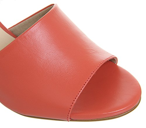 Office Miffi Sandals Leather Tie Red Block wrOnd6wCq