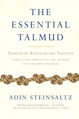 Essential Talmud Adin Steinsaltz