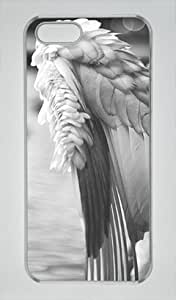 Iphone 5 5s PC Hard Shell Case Beautiful Wing 2 Transparent Skin by Sallylotus by ruishername