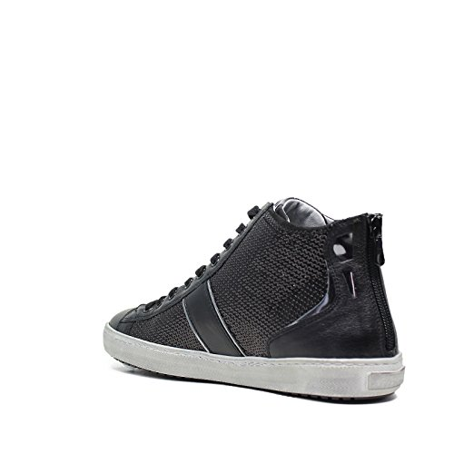 Nero GiardiniSneakers Femmes A616182D 100 Black Made in Italy Automne Hiver 2016 2017