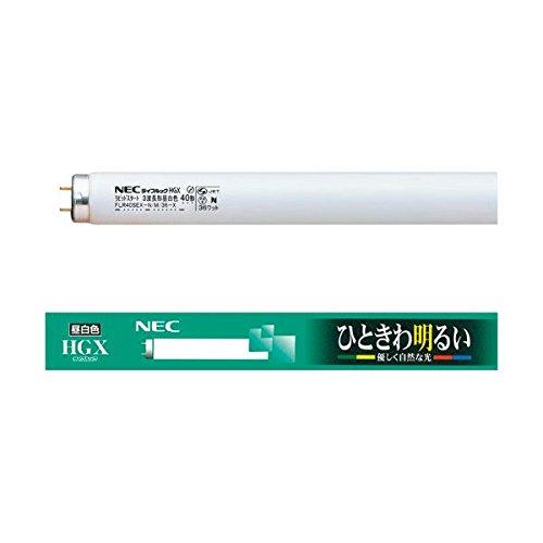 NEC 蛍光ランプ ライフルックHGX直管グロースタータ形 40W形 3波長形 昼白色 業務用パック FL40SSEX-N/37-X1セット(75本:25本×3パック) 家電 電球 その他の電球 14067381 [並行輸入品] B07MNV8KW2