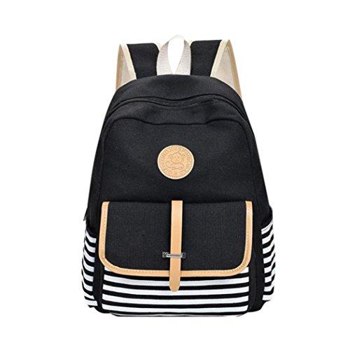 Main Mode sacs toile filles Femme Femme BCBG épaule à de Femme à messager Sac Sac main JIANGfu à Noir école sac mode Cabas voyage dos sac xvOwq7wIa