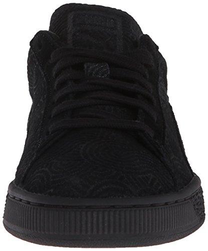 Estilo de la zapatilla de deporte Puma Suede Classic Colo de Wn Classic Black/black
