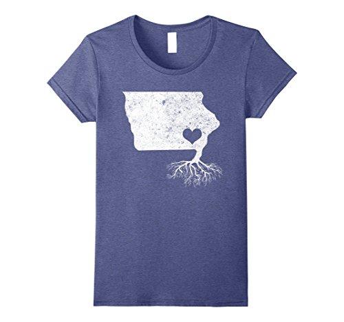 Womens Iowa Roots Shirt: