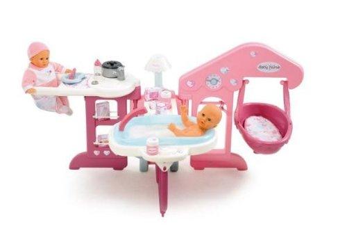 Smoby - 24018 - Poupée et Mini-Poupée - Baby Nurse - Maison des Bébés