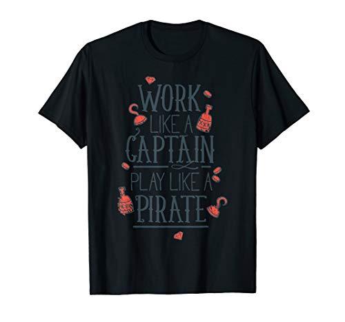 Work Like A Captain Play Like A Pirate Hook Costume ()