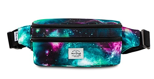 521s Fashion Waist Bag Cute Fanny Pack | 8.0''x2.5''x4.3'' | Galaxy by hotstyle