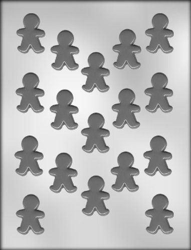 CK Products 1-1/2-Inch Gingerbread Boy Chocolate Mold -