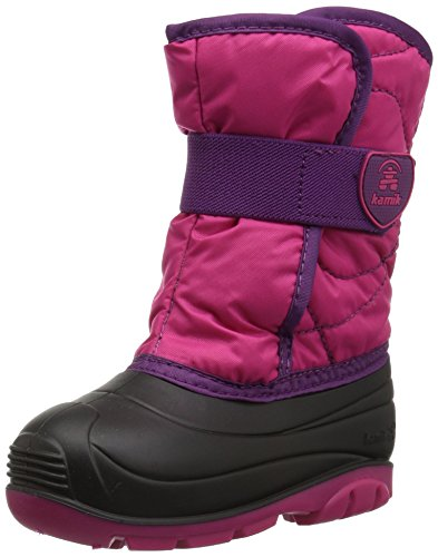 Kamik baby-girls' SNOWBUG3 Snow Boot
