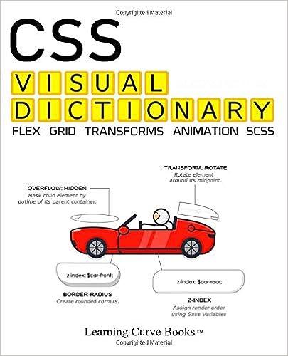 Css Visual Dictionary by Greg Sidelnikov