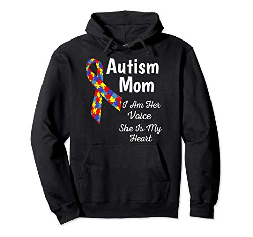 Autism Awareness Mom Hoodie Women Hooded Sweatshirt -