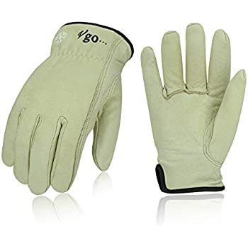 Vgo 3Pairs 32℉ 3M Thinsulate C40 or above Lined Winter
