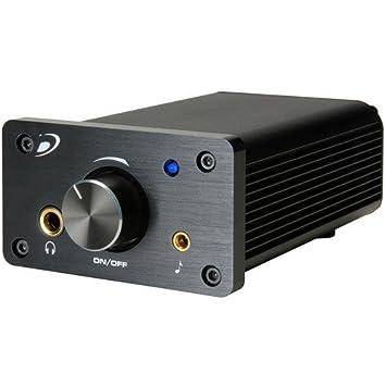 Dayton Audio DTA-100a 2.0 Alámbrico Negro - Amplificador de audio (2.0 canales,