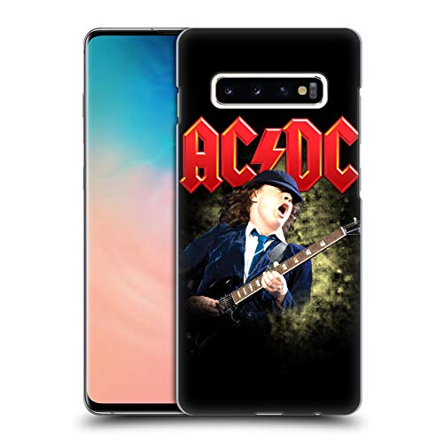Official AC/DC ACDC Angus Young Guitar Solo Hard Back Case Compatible for Samsung Galaxy S10+ / S10 Plus