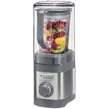 Jamba Appliances Quiet Shield Blender with 32 oz Jar, Gray (58915)