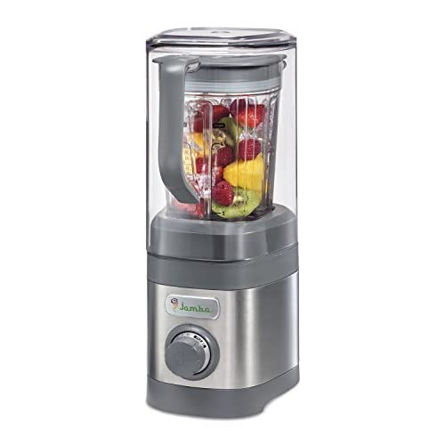 Jamba Appliances Quiet Shield Blender with 32 oz Jar, Gray (58915)