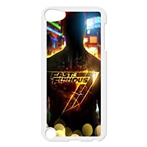 Furious 7 YT0012447 Phone Back Case Customized Art Print Design Hard Shell Protection Ipod Touch 5