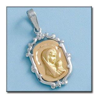 Médaille D'or 18kt Blanco
