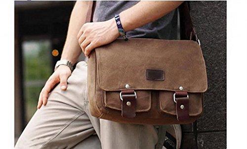 EOZYBolsos Bandolera/Bolsos De Asas Para Hombre De Viaje Deporte Gris Gris
