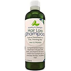 This Anti- hair loss shampoo helps to reduce hair shedding and promotes healthy new hair growth. It works to restore hair in the thinning. This hair healthy blend works together to stimulate the hair follicle and grow thick luscious full and healthy ...