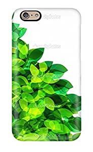 Fashionable Style Case Cover Skin For Iphone 6- Fresh Spring Foliage