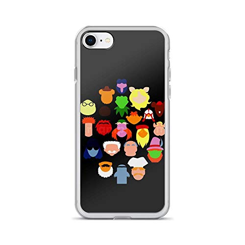 iPhone 7/8 Pure Case Cover Mustache Anime -